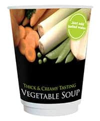 12oz Incup Vegetable Soup